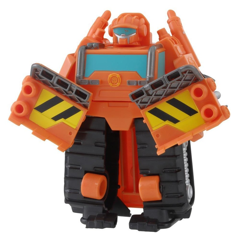 Transformers Rescue Wedge the Construction-Bot