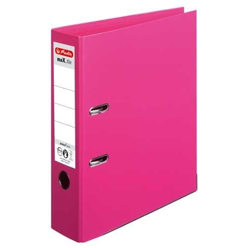 Ordner A4 max.file protect pink 8 cm von Herlitz