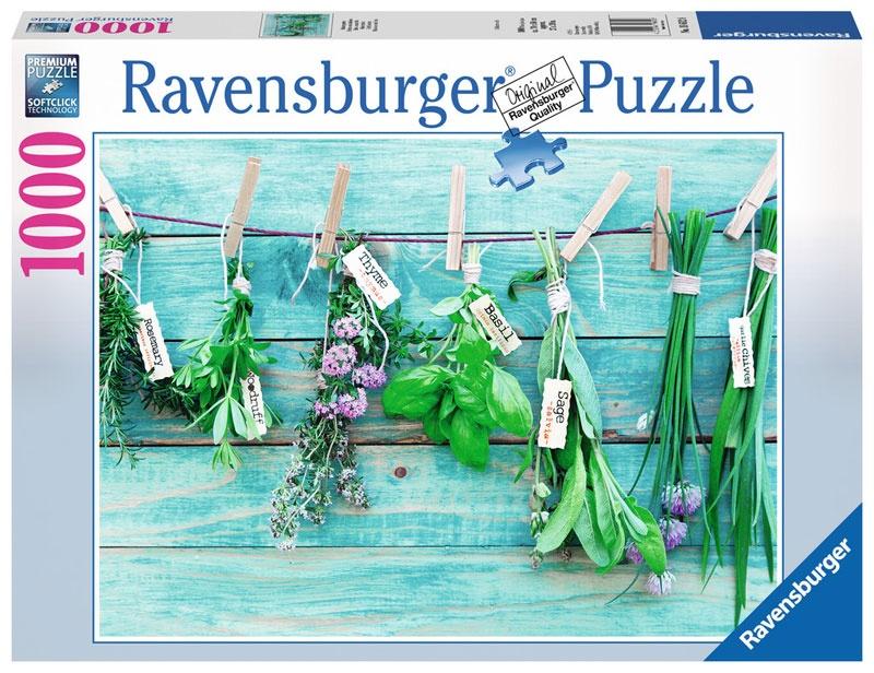 Ravensburger Puzzle Kräutergarten 1000 Teile