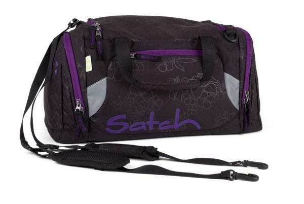 Ergobag Satch Sporttasche Purple Hibiskus