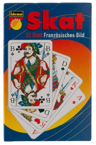 Skatkarten Französisches Blatt