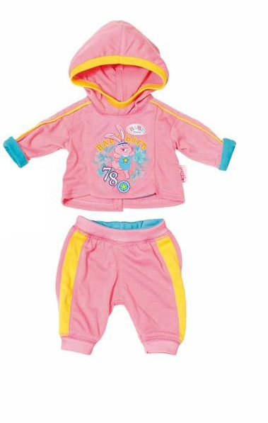 Zapf Creation Baby born Jogginganzug rosa
