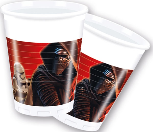 Star Wars Force Awakens 8 Becher 200 ml