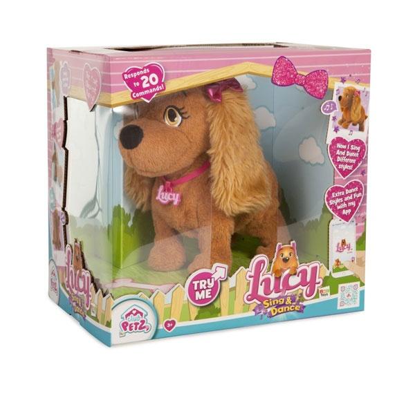 Lucy Süße Pfote Sing & Dance Hund von IMC
