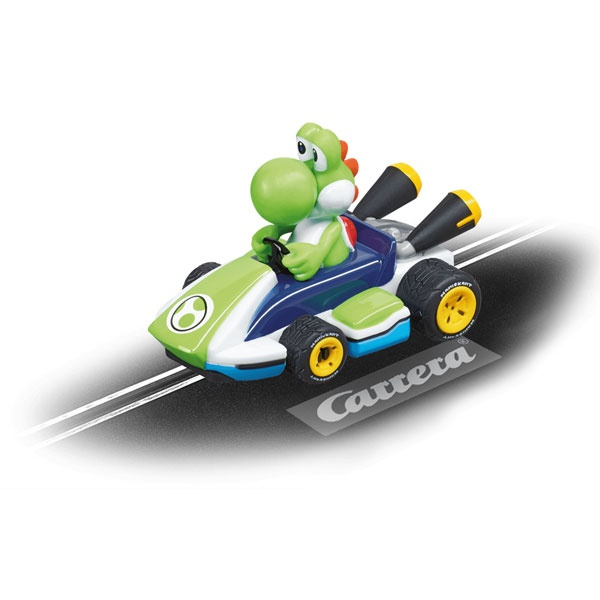 Carrera First Electric Slot Car Nintendo Mario Kart Yoshi