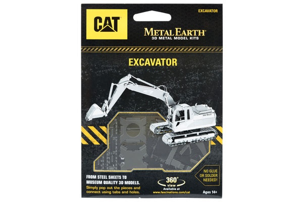 Bastelset Metal Earth CAT Excavator (Schaufelbagger)