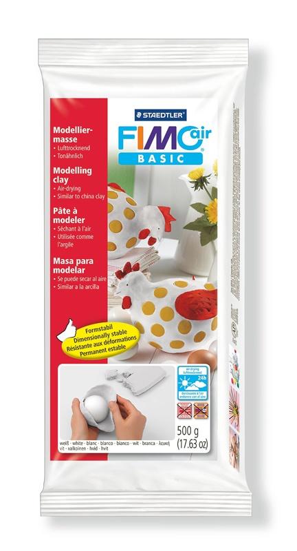 Staedtler Modelliermasse FimoAir Basic 500 g weiß