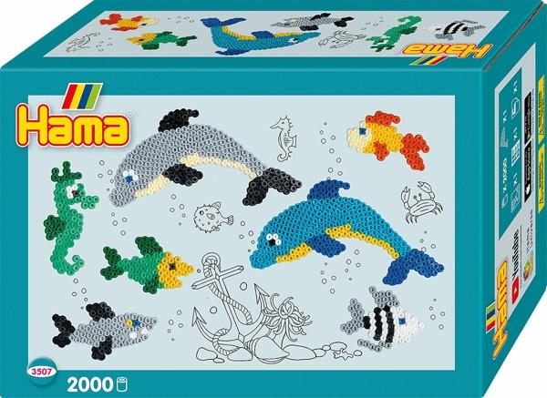 Hama Bügelperlen-Set Delfin