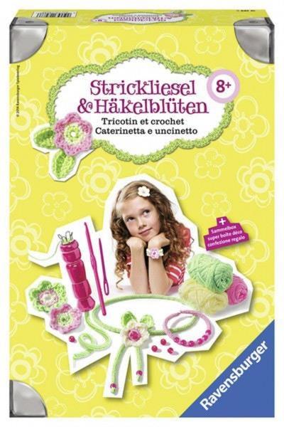 Strickliesel & Häkelblüte