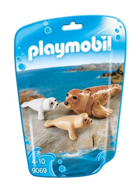 Playmobil 9069 Family Fun Robbe mit Babys