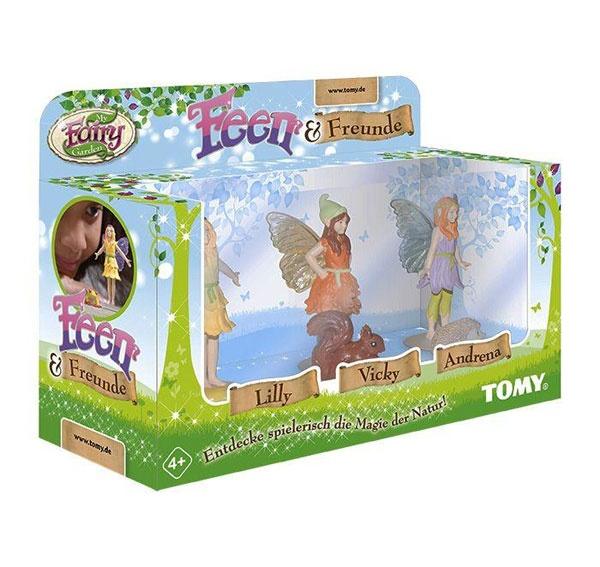 Fairy Garden Feen & Freunde Figuren von Tomy