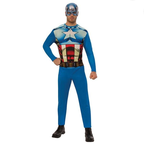 Kostüm Captain America OPP STD Erw.