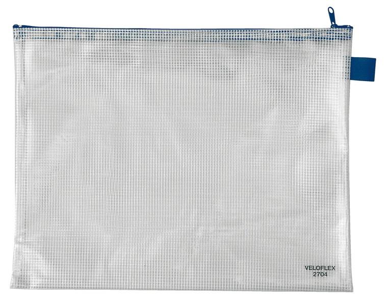 Veloflex Reißverschlusstasche A4