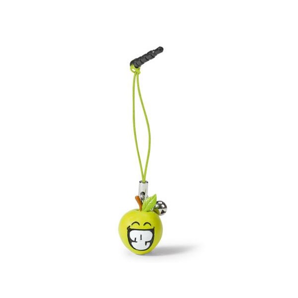 Smiley World Smartphone Stecker Apfel