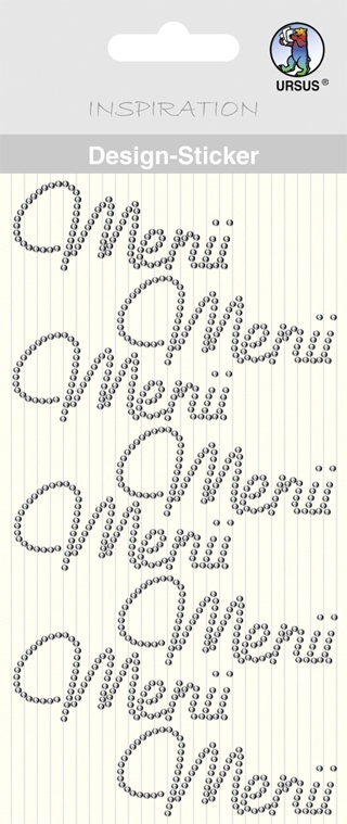 Design-Sticker Motiv 49 Menü