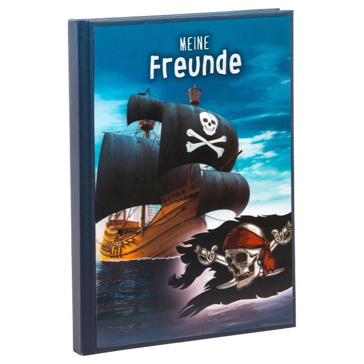 Goldbuch Freundbuch 3D Piraten