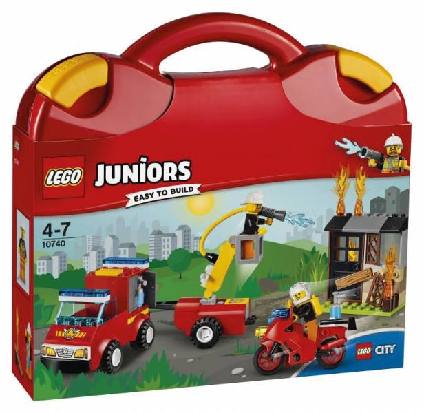 Lego Juniors 10740 Löschtrupp-Koffer
