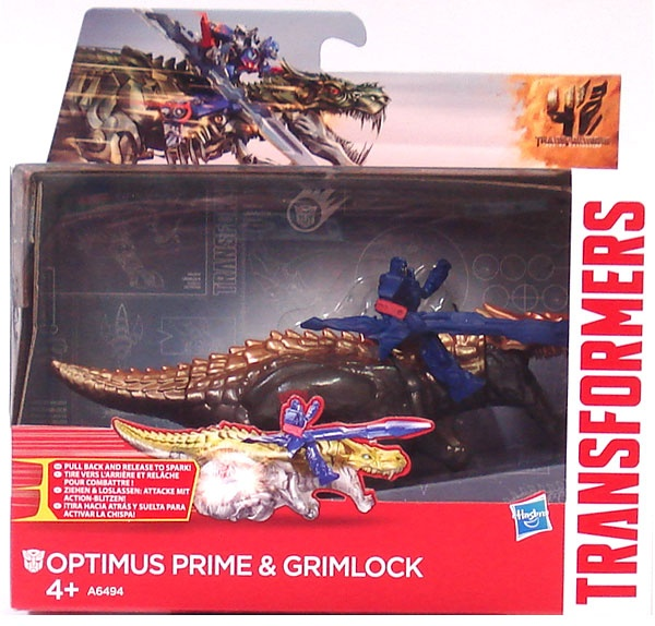 Transformers Age of Extincion Optimus Prime und Grimlock