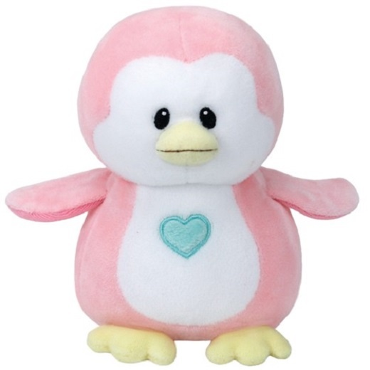 Ty Baby Linie Plüschtier Pinguin Penny rosa 17 cm
