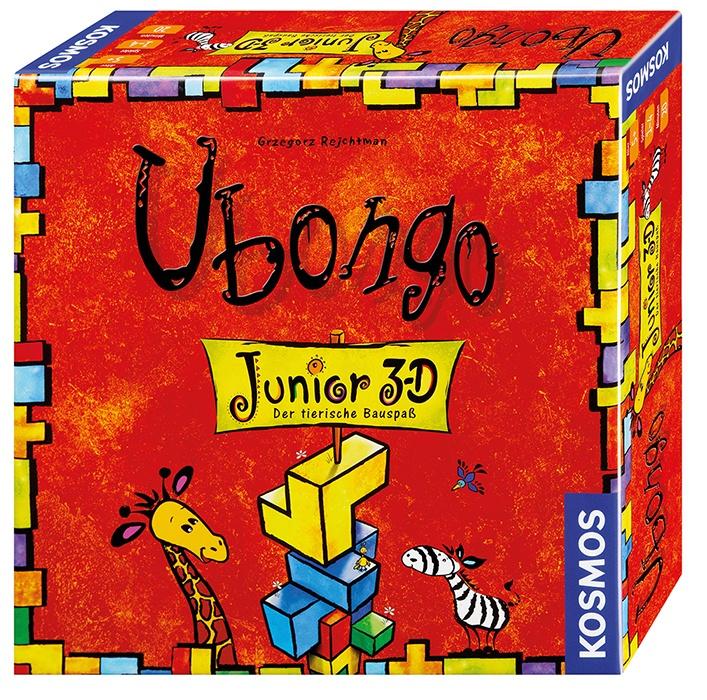 UBONGO Junior 3-DDer tierische Bauspaß Spiel von Kosmos