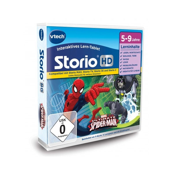 vtech Storio TV Spiderman
