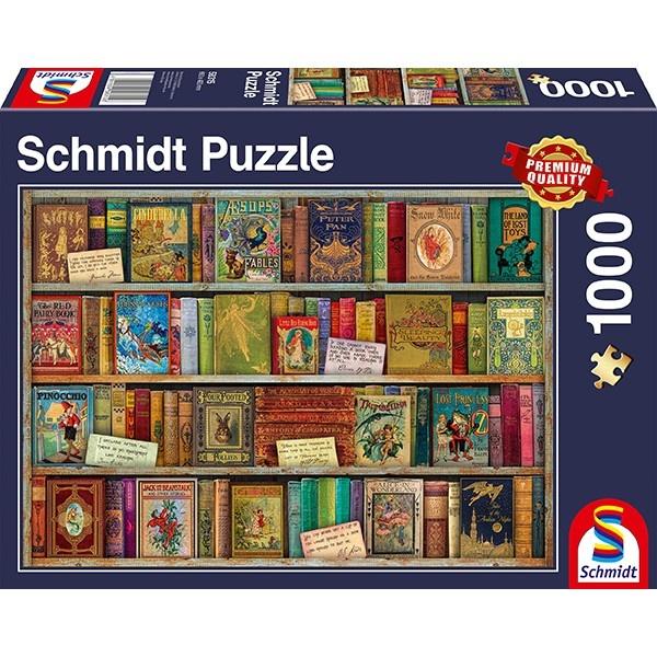 Schmidt Spiele Puzzle Märchenbücher 1000 Teile