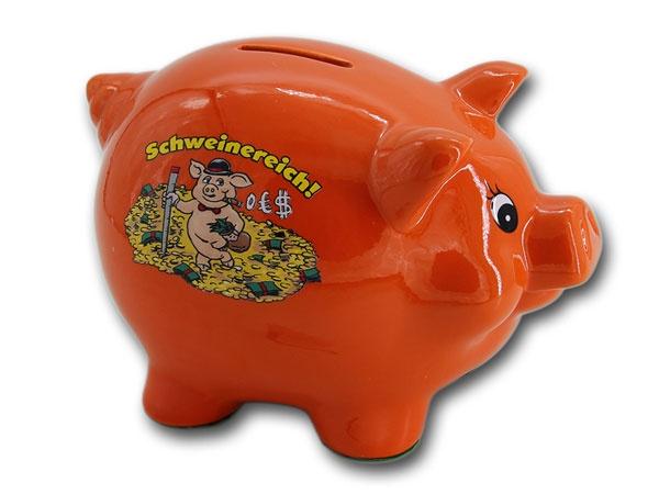 Sparschein Schweinereich