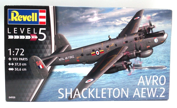 Revell 04920 Avro Shackleton Aew.2 1:72