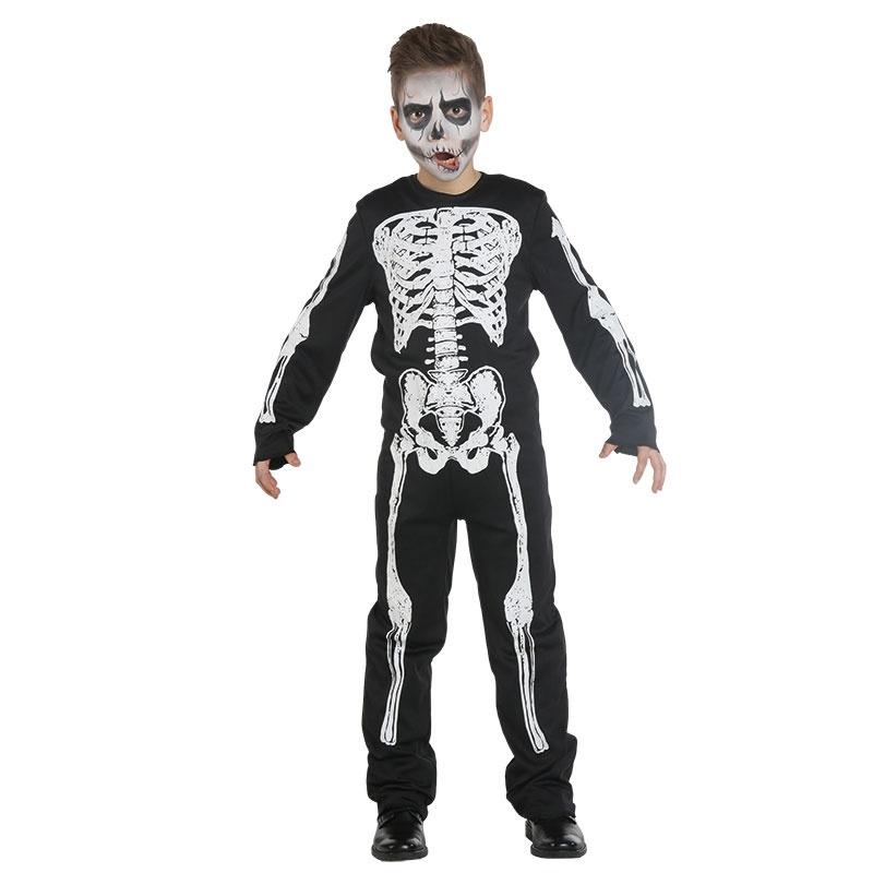 Kostüm Skelett Boy 152