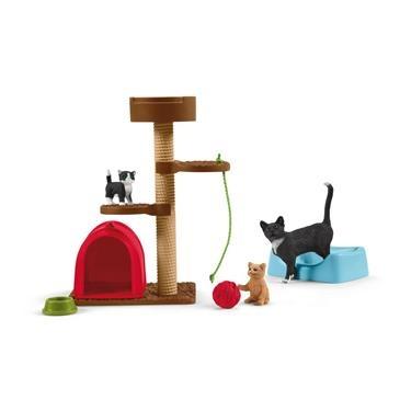 Schleich Farm World Spielspaß für niedliche Katzen 42501