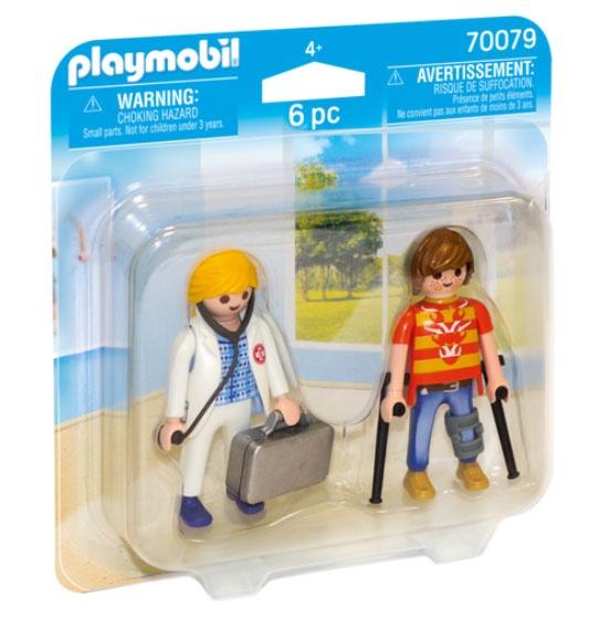 Playmobil 70079 Duo Pack Ärztin und Patient