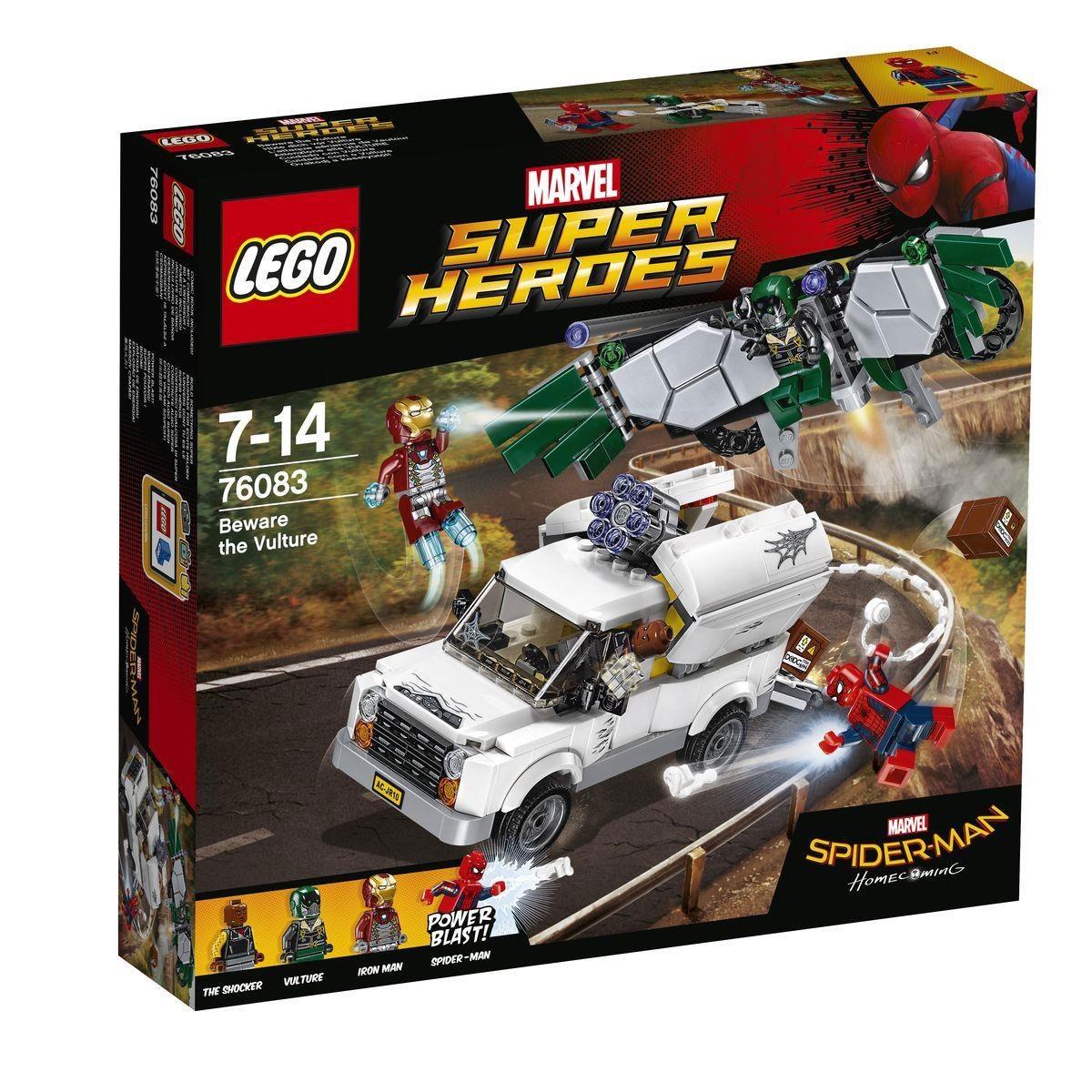 Lego Marvel Super Heroes 76083 Hüte dich vor Vulture