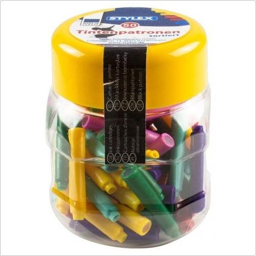 Stylex Tintenpatronen Standard 50 Stück farblich