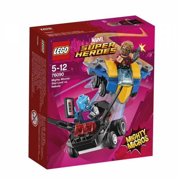 Lego Super Heroes 76090 Mighty Micros Star-Lord vs. Nebula