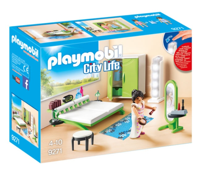 Playmobil 9271 City Life Schlafzimmer