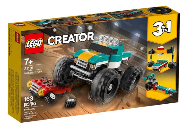 Lego Creator 31101 Monster-Truck