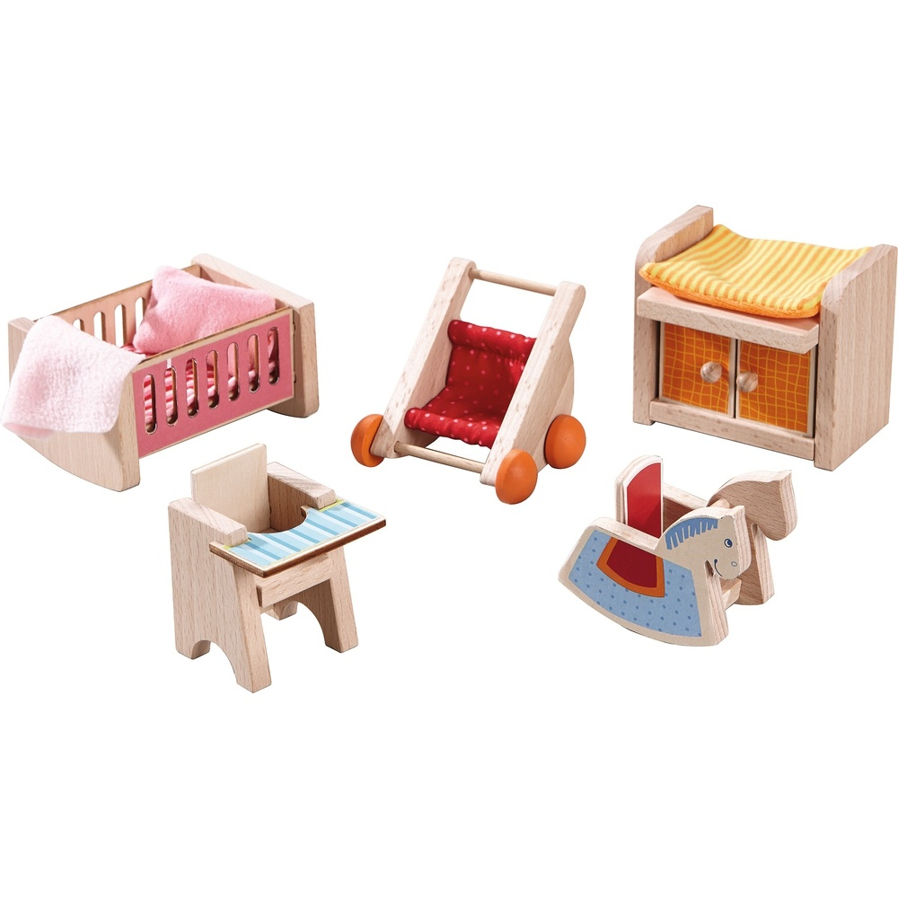 Haba Little Friends Puppenhaus-Möbel Kinderzimmer