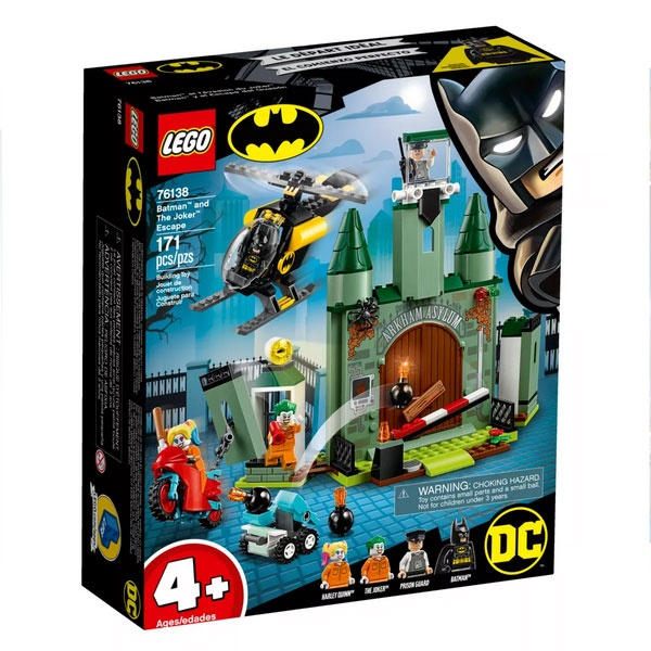 Lego Super Heroes 76138 Joker auf der Flucht und Batman
