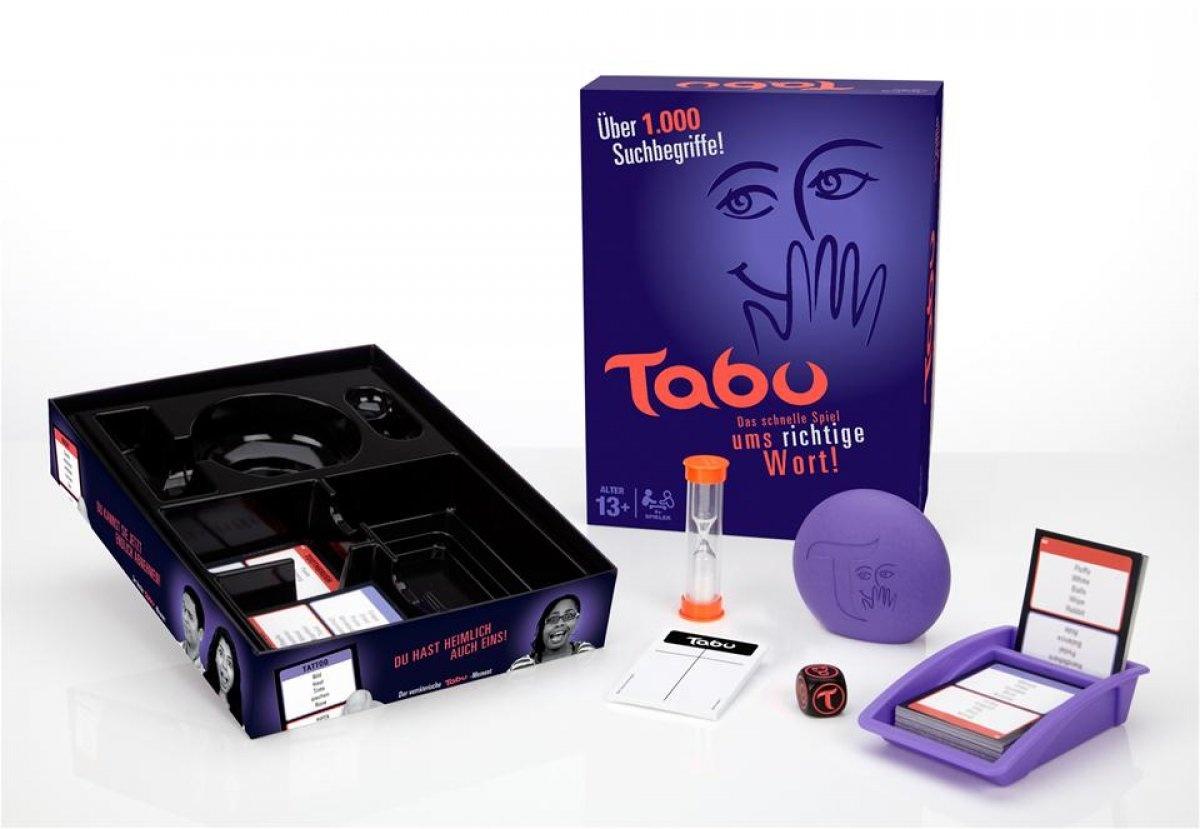 Tabu Spiel von Hasbro