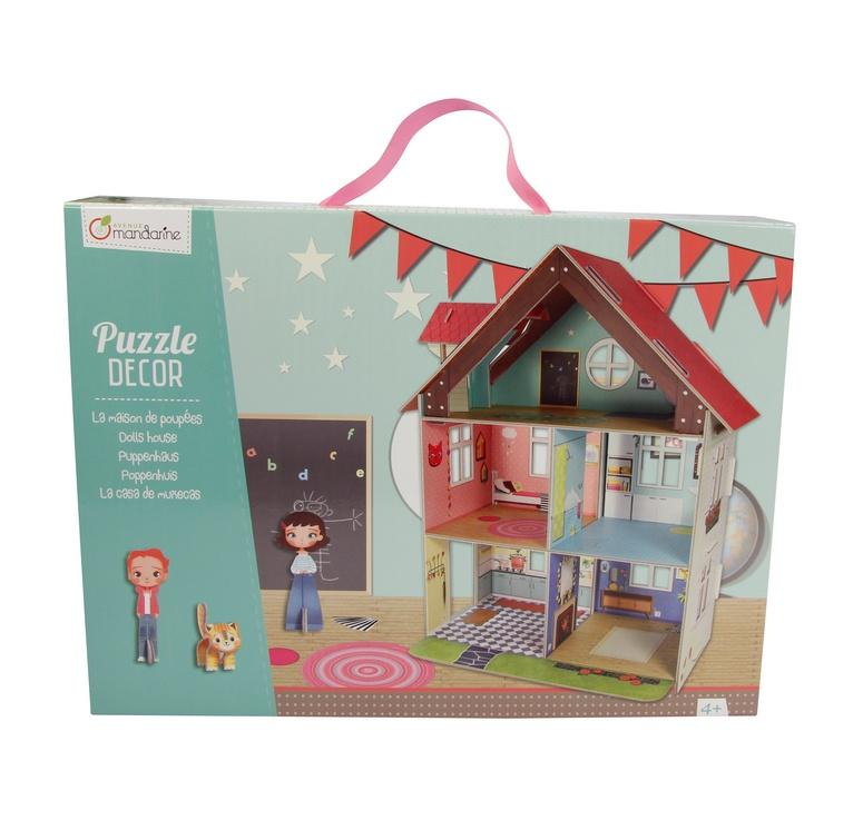 Avenue Mandarine 3D Puzzle Puppenhaus