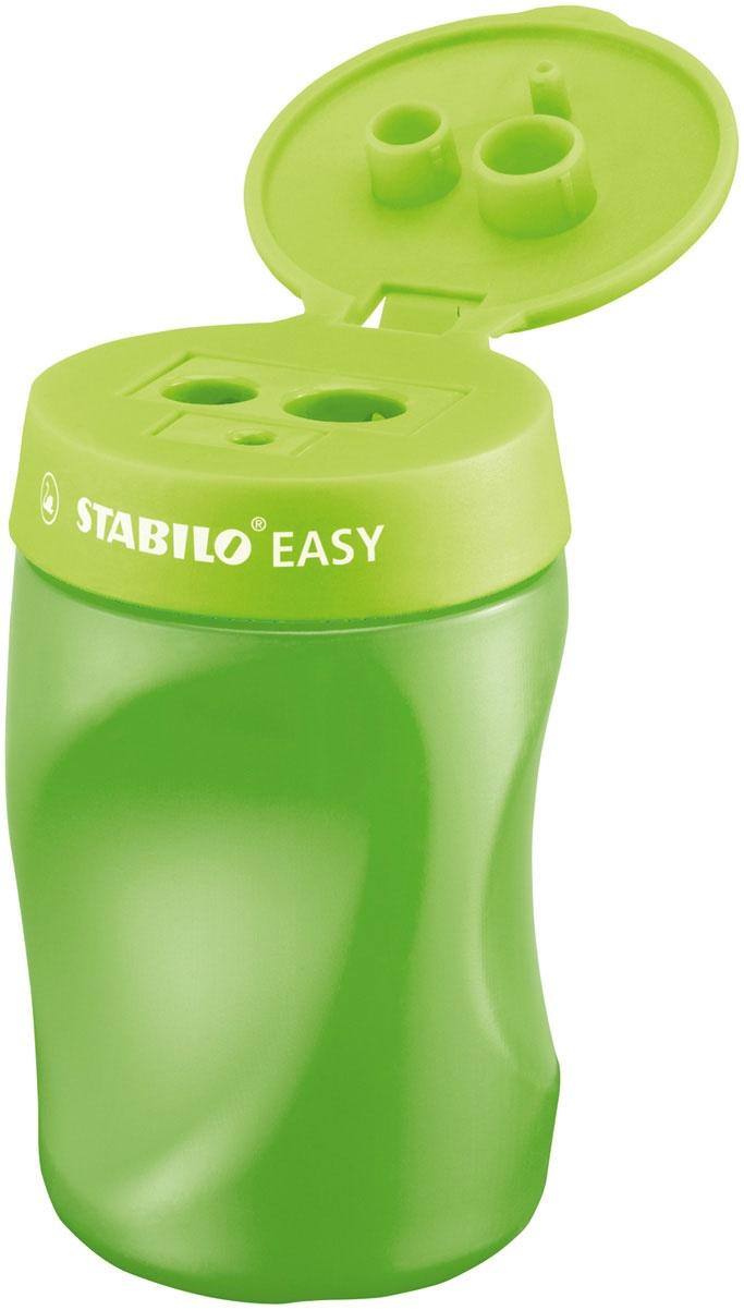 Stabilo Easy Anspitzer R hellgrün