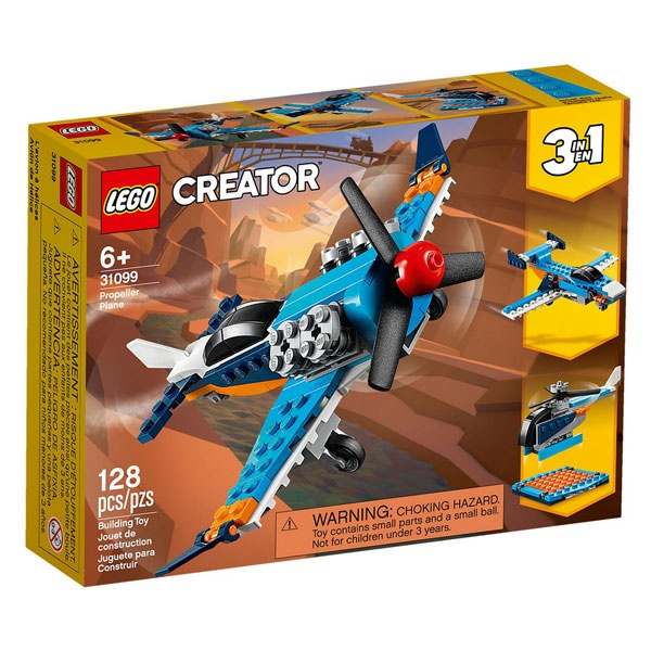 Lego Creator 31099 Propellerflugzeug