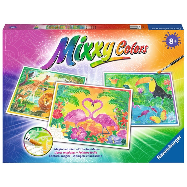 Ravensburger Mixxy Colors Tiere am Wasserloch