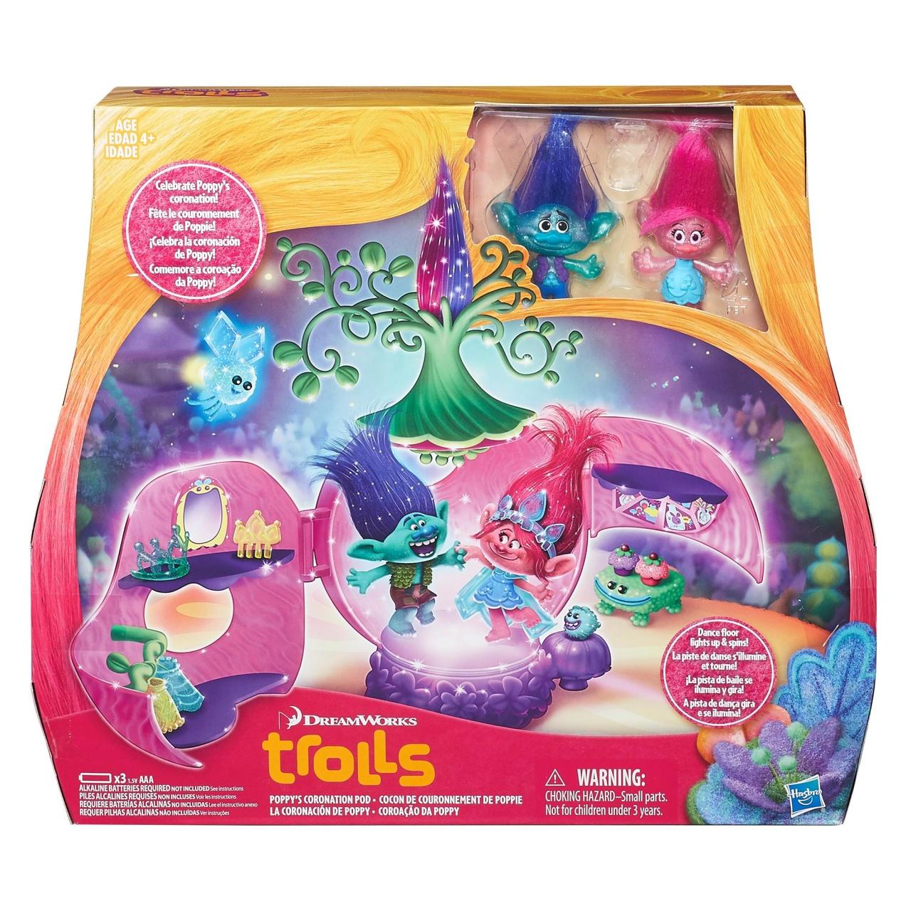 Trolls Trollstadt Poppys Krönungssaal