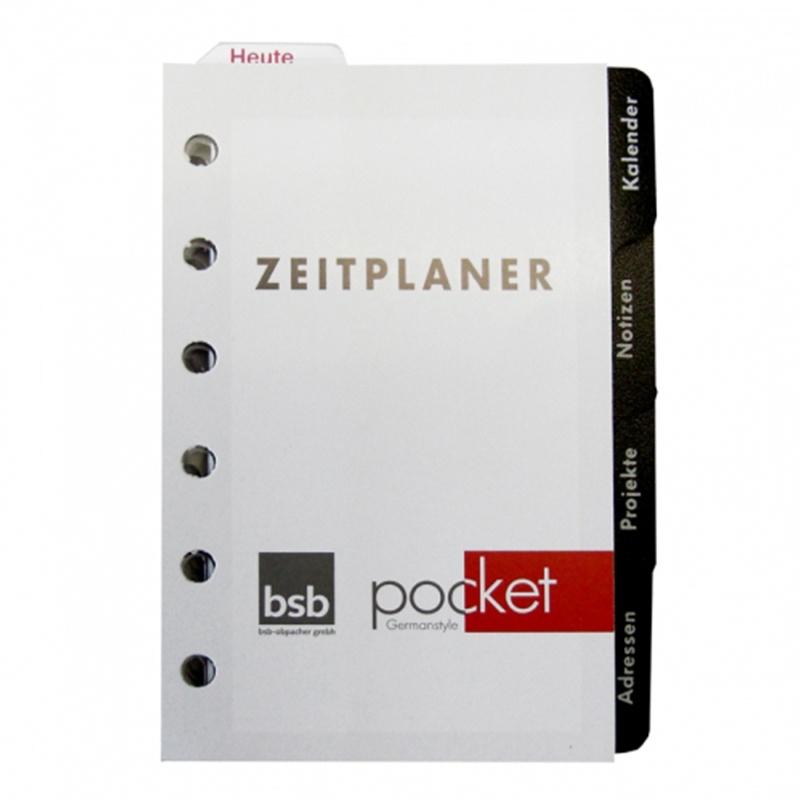 2021 Ersatzeinlage Pocket A7 Komplett-Ausstattung