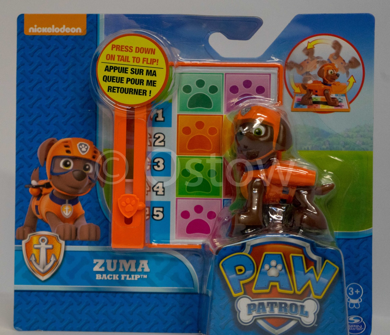 Paw Patrol Action Pack Pups Deluxe Figur Zuma