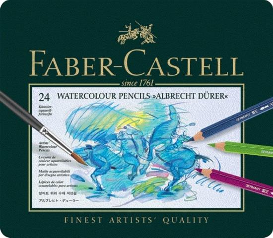 Faber Castell Aquarell-Farbstifte Albrecht Dürer 24 Stück in