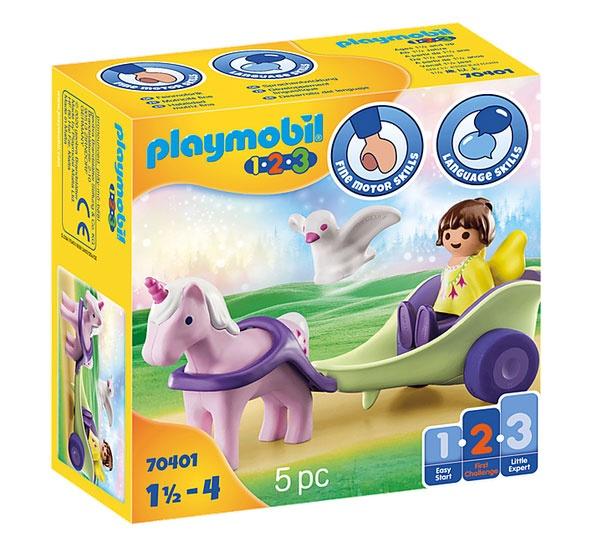 Playmobil 70401 1.2.3 Einhornkutsche mit Fee