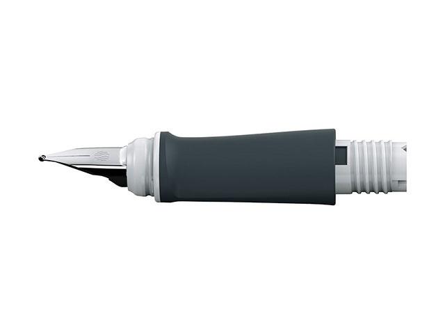 Schneider Ersatz-Vorderteil Füller Ray M weiß/grau