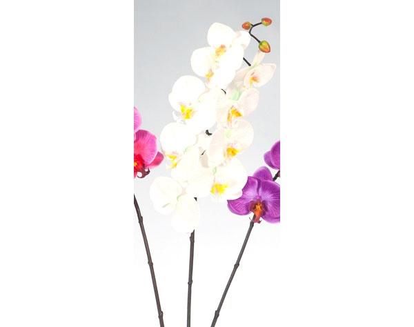 Dekoblume Orchidee weiß